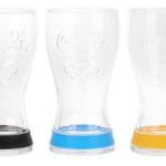 Les verres Coca-Cola 2012, en partenariat avec les Jeux Olympiques