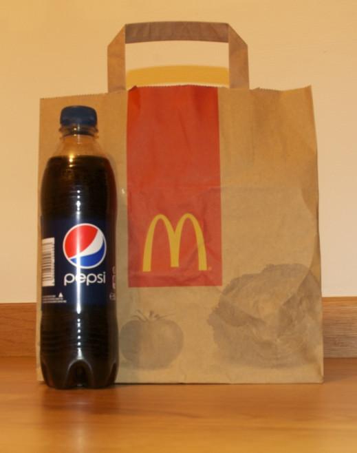 Du Pepsi chez McDo?!
