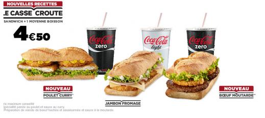 Le pain baguette – la nouvelle force de McDonald's? (partie 2)