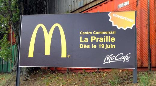 Ouverture du 160e McDonald's de Suisse