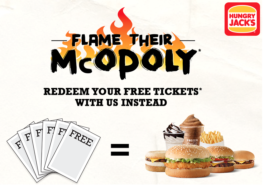 Flame their McOpoly